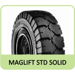 "7.00-12 5.00"" BKT MAGLIFT STD SOLID"
